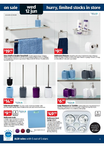 Aldi Catalogue Special Buys Week 24 2013 Page 3