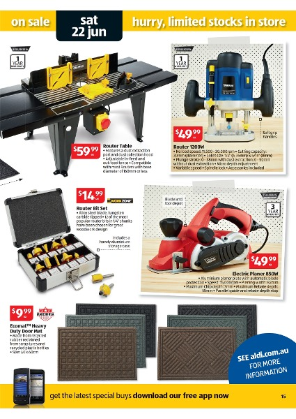Aldi Catalogue Special Buys Week 25 2013 Page 15