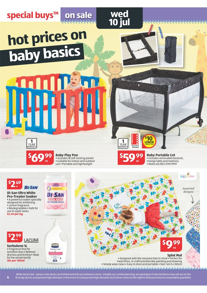 Aldi Catalogue Special Buys Week 28 2013 Page 4