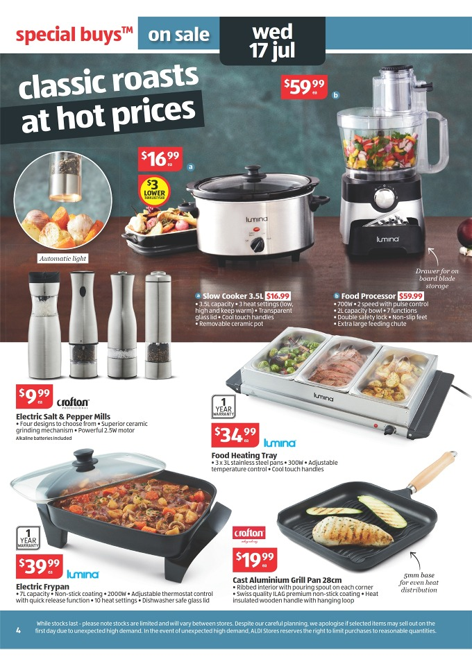 beautiful Aldi Kitchen Appliances #2: And more kitchen appliances from Lumina and Crofton. Surely instore sale  presents a larger sale for these products. If you would like to see them  you can ...