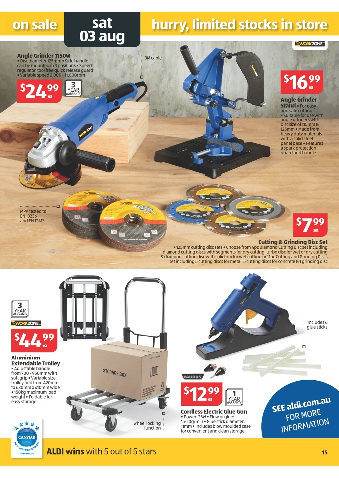 Aldi Catalogue Special Buys Week 31 2013 Page 15