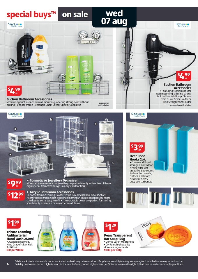 Aldi Catalogue Special Buys Week 32 2013 Page 4