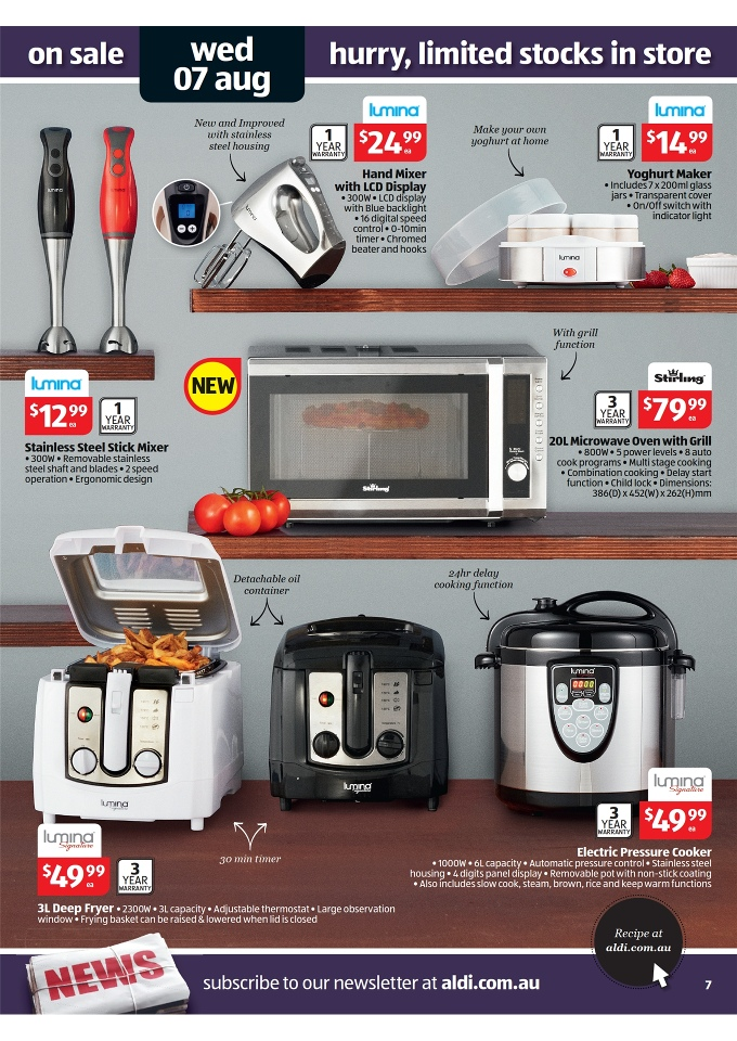 Aldi Catalogue Special Buys Week 32 2013 Page 7