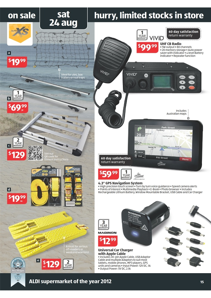 Aldi Catalogue Special Buys Week 34 2013 Page 15