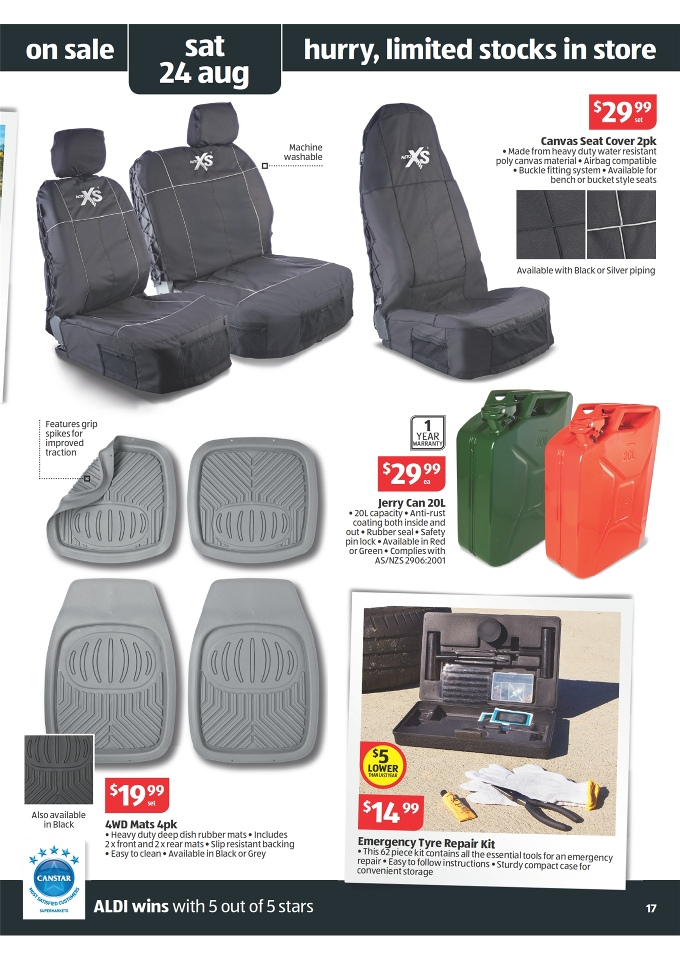 Aldi Catalogue Special Buys Week 34 2013 Page 17