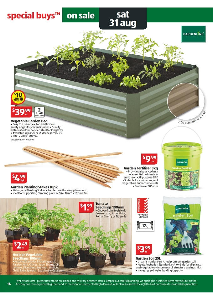 Aldi Catalogue Special Buys Week 35 2013 Page 14