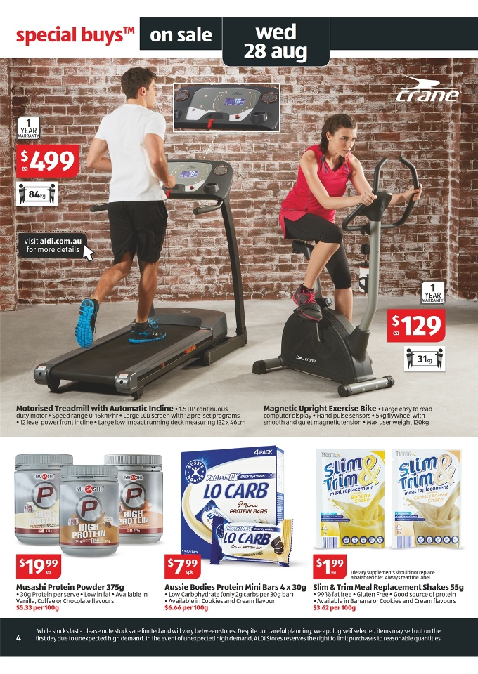 ALDI Catalogue - Special Buys Week 35 2013 Page 4