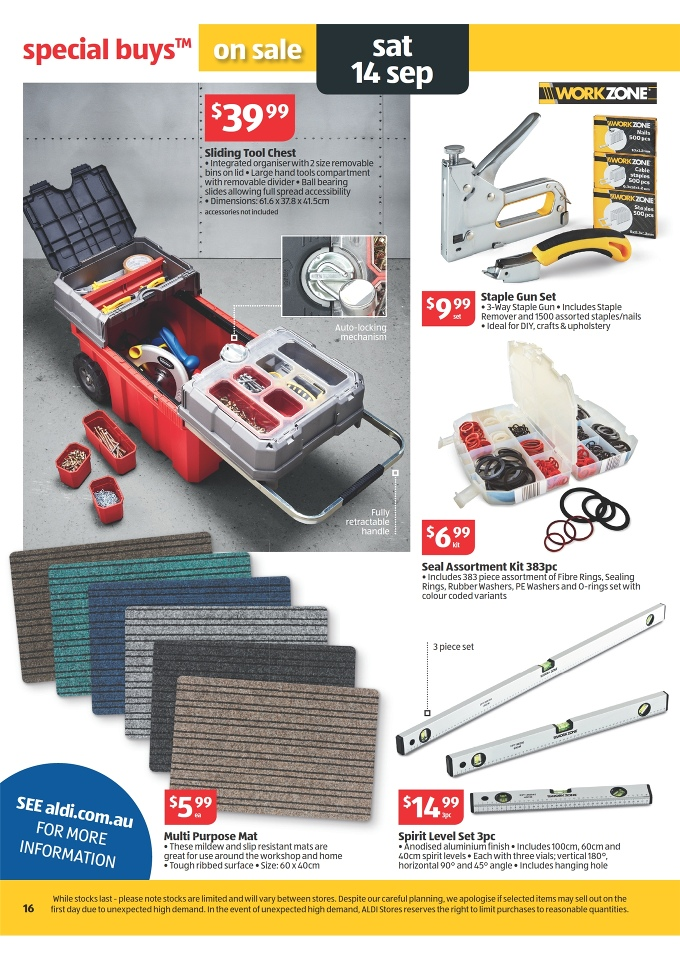 Aldi Catalogue Special Buys Week 37 2013 Page 16