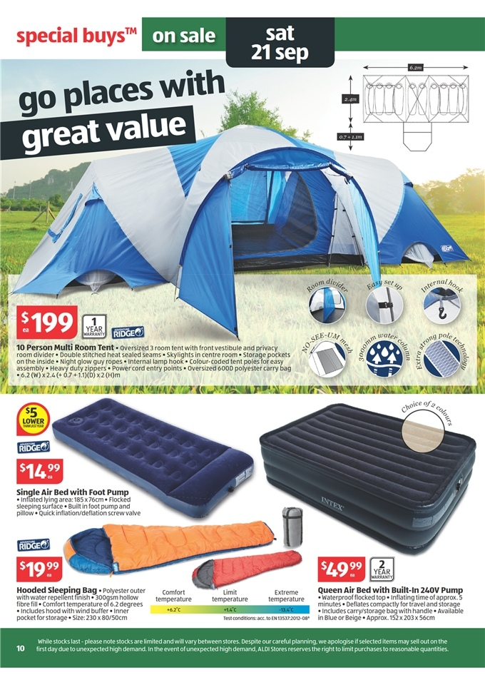 Aldi Catalogue Special Buys Week 38 2013 Page 10