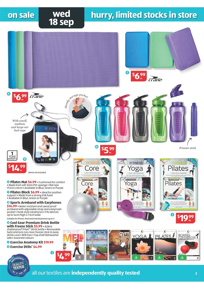 Aldi Catalogue Special Buys Week 38 2013 Page 3