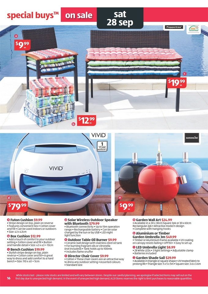 aldi catalogue special buys week 39 2013 page 16. Black Bedroom Furniture Sets. Home Design Ideas