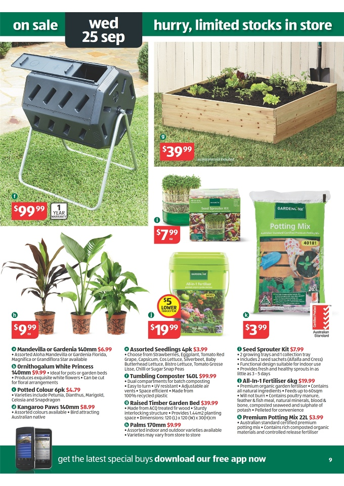 Aldi Catalogue Special Buys Week 39 2013 Page 9