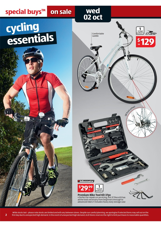 047e8d06df6 ALDI Catalogue - Special Buys Week 40 2013 crane mens or ladies 700c hybrid  bike,