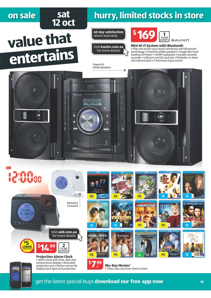 Aldi Catalogue Special Buys Week 41 2013 Page 19