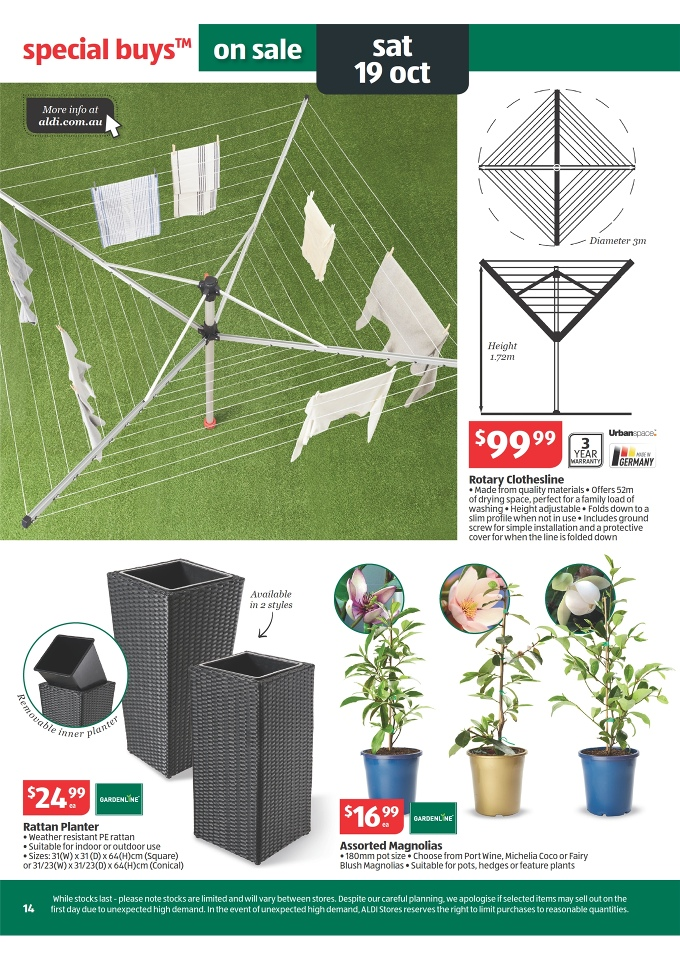 Aldi Catalogue Special Buys Week 42 2013 Page 14