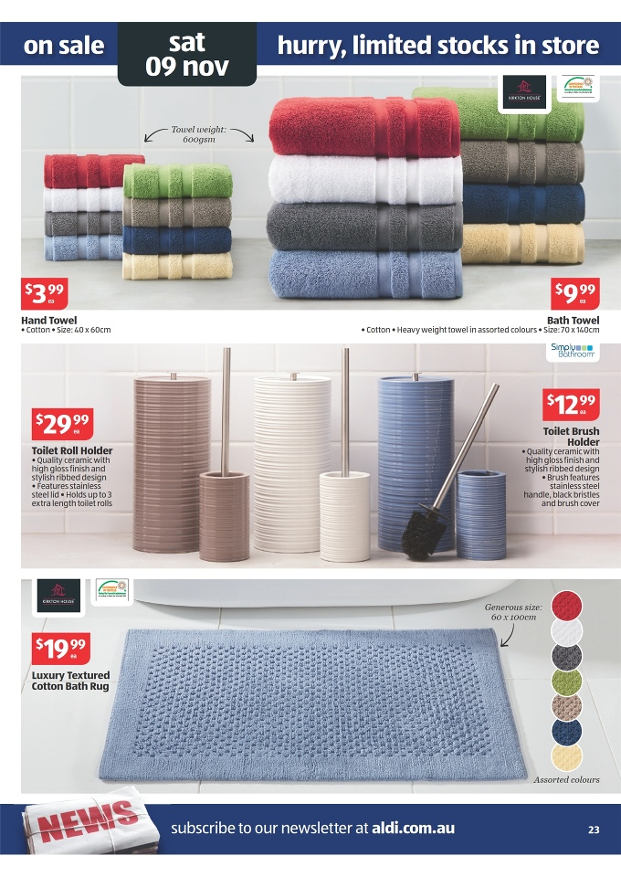 Aldi Catalogue Special Buys Week 45 2013 Page 23