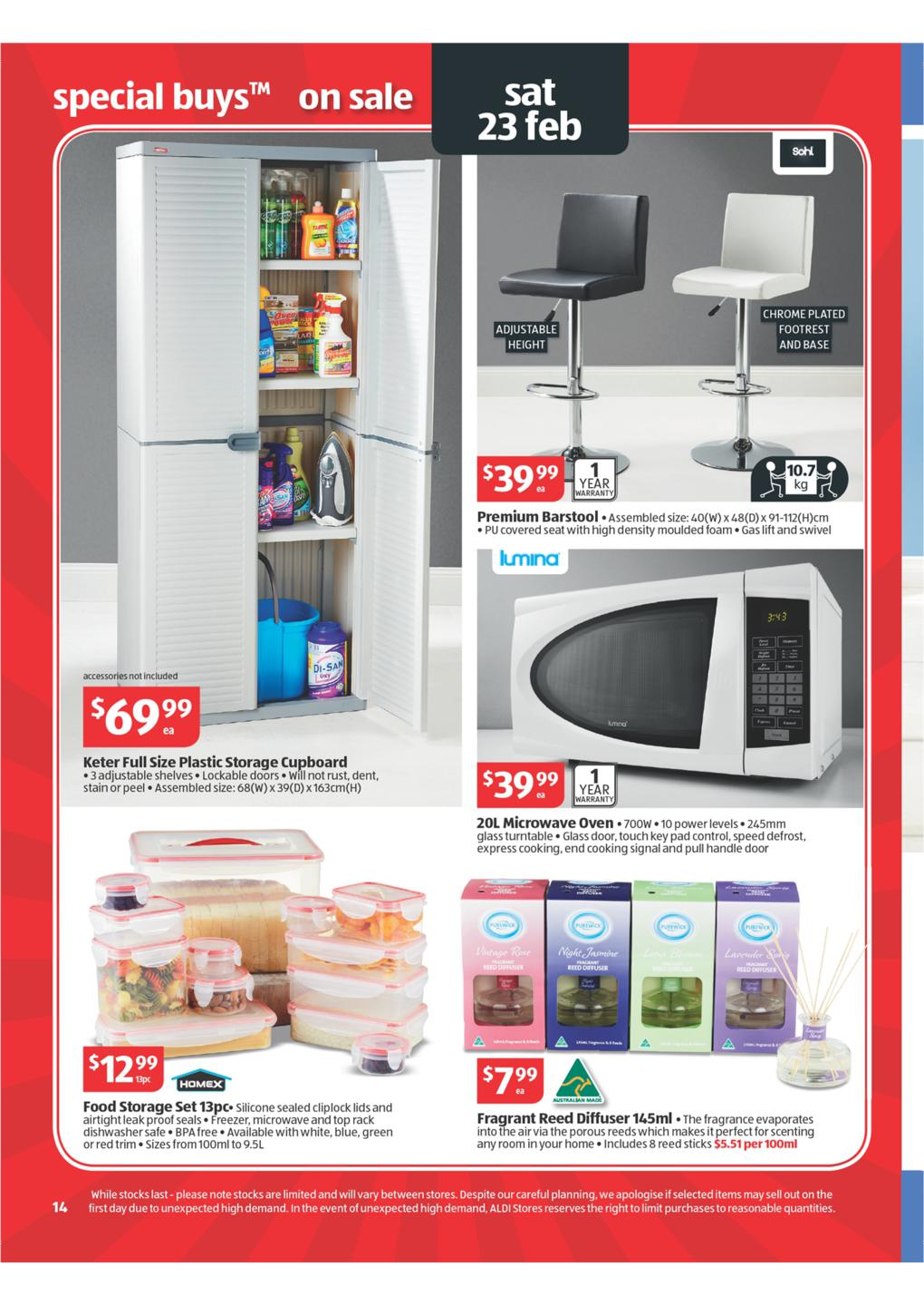ALDI Catalogue - Special Buys Wk 8 2013 Page 14