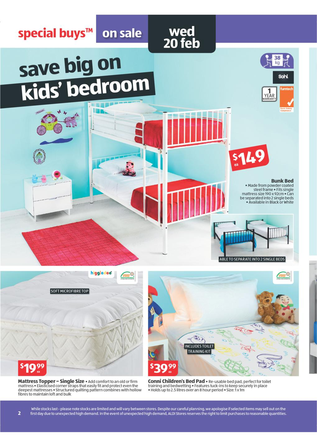 Aldi Catalogue Special Buys Wk 8 2013 Page 2