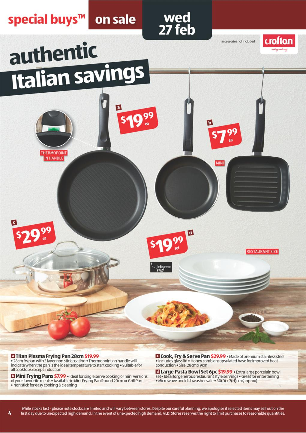 awesome Aldi Kitchen Appliances #3: One thought on u201cSmart Kitchen Appliances from Aldi Catalogueu201d