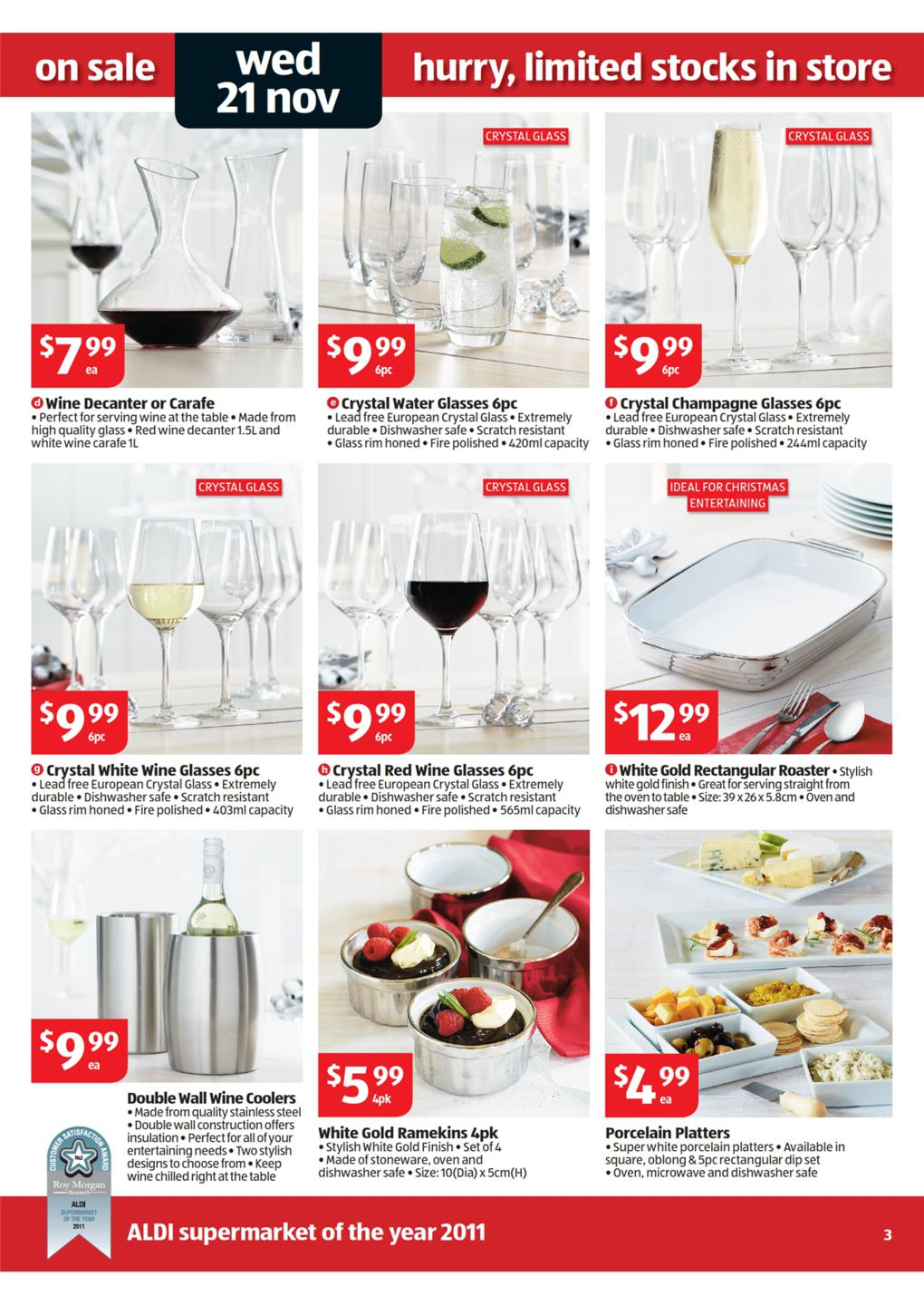 ALDI Catalogue: Special Buys Wk 47 Page 3