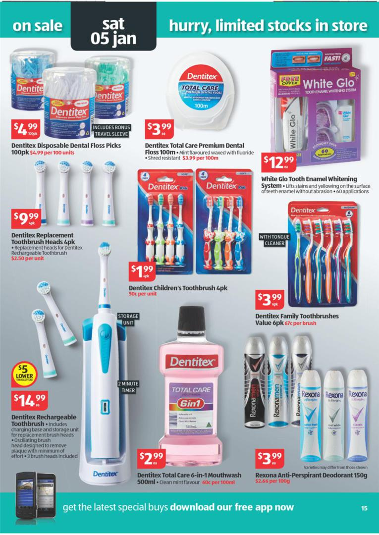 Aldi Catalogue Special Buys Wk 52 January Page 15