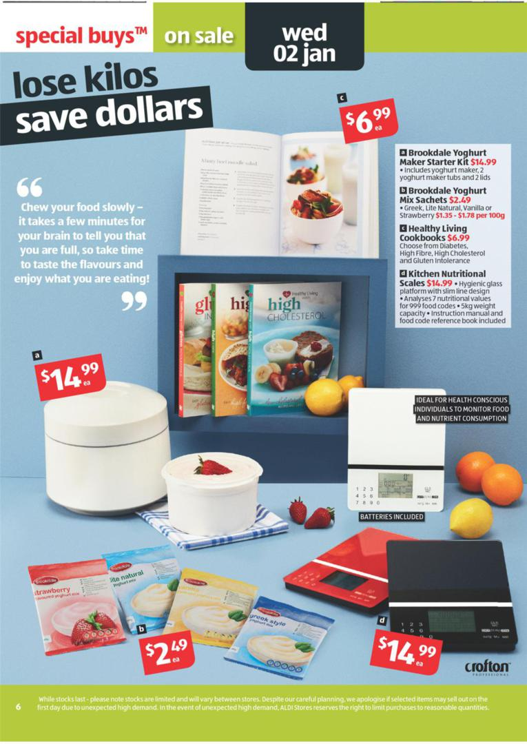 ALDI Catalogue - Special Buys Wk 52 January Page 6