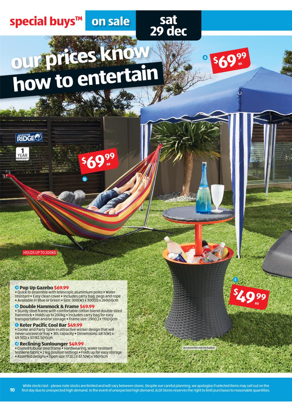 aldi catalogue   special buys wk 52 keter pacific cool bar adventure ridge pop up aldi catalogue   special buys wk 52 page 10  rh   discountstoresau
