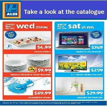 Aldi Catalogue November