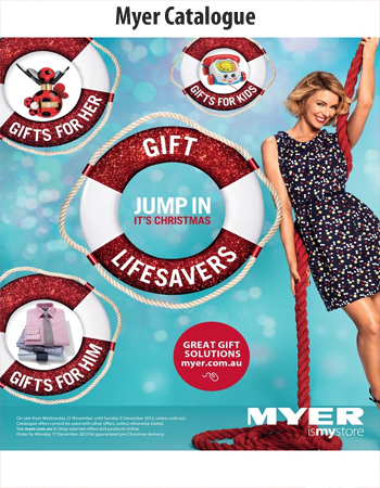 Myer Catalogue Jump In Christmas With Myer Sale