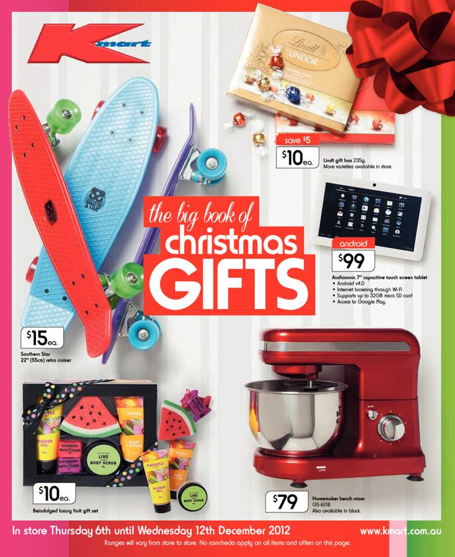 Kmart Catalogue Christmas - Greatest Gift Ideas for Lowest Prices