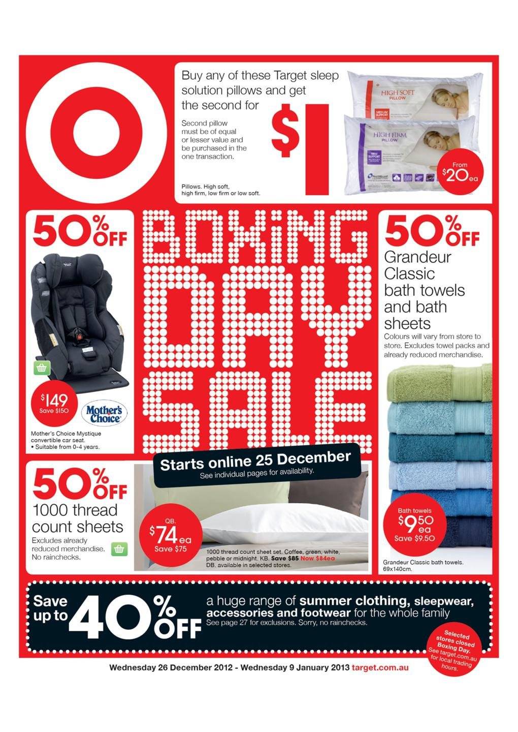 Target Catalogue January