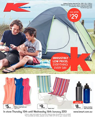 Kmart Catalogue - Kmart Catalogue Second Week of January 2013
