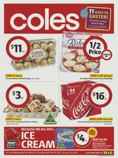coles catalogue 20 march 2013