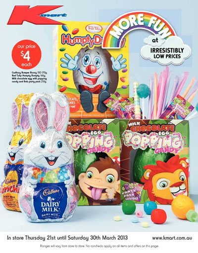 kmart catalogue easter great prices