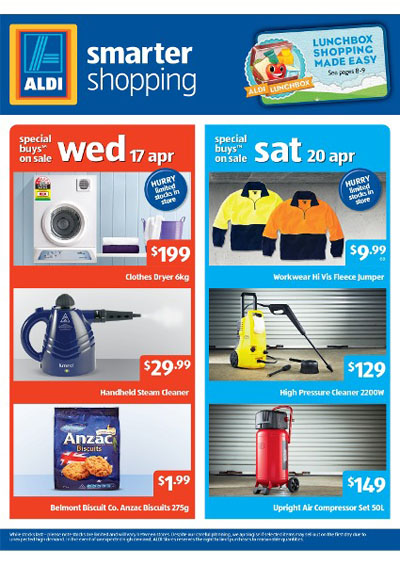 Aldi Catalogue April With Home Sale Cleaning Grocery
