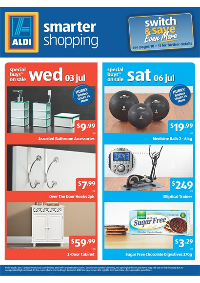 Aldi Catalogue July 2013 Including Grocery And Home Sale