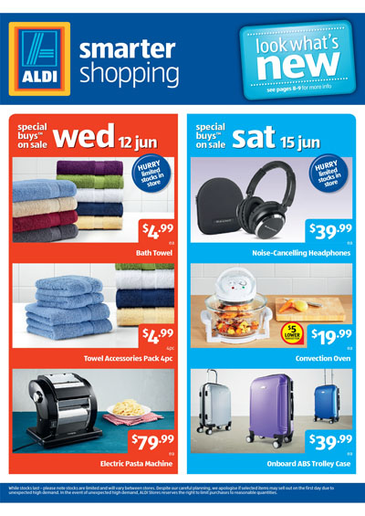 Aldi June Offers