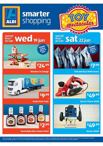 Aldi Toy Sale 2013