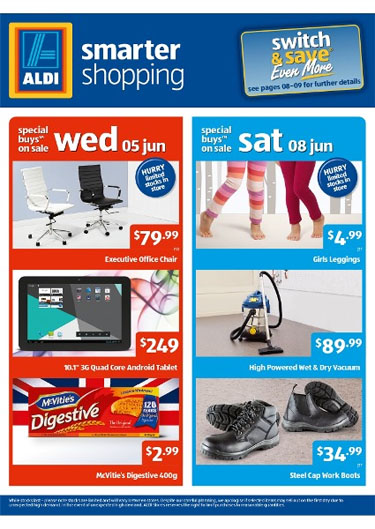 aldi catalogue june