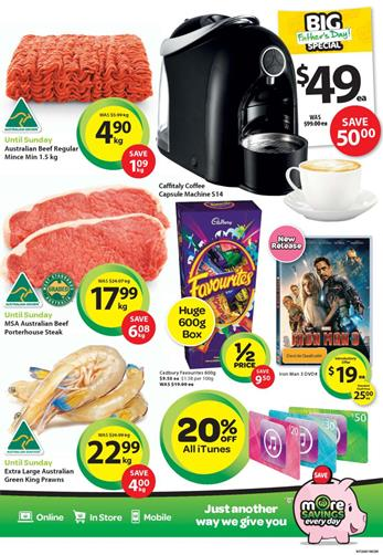woolworths father's day gift