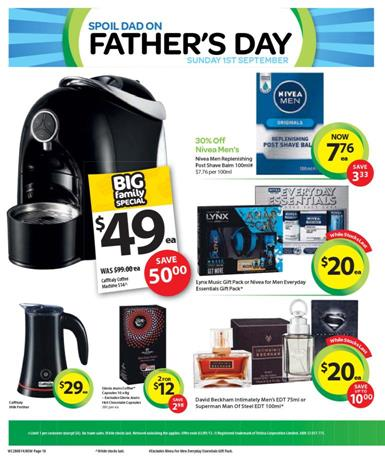 woolworths gifts for dad