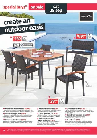 gardenline outdoor furniture