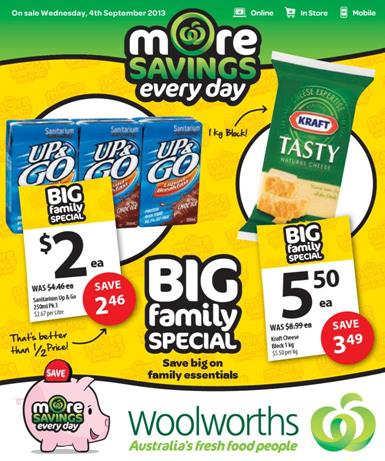 woolworths fresh food catalogue