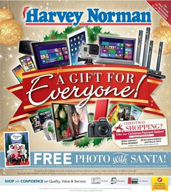 Harvey Norman Christmas Catalogue Gifts 2013