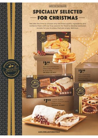 aldi christmas pies and cakes