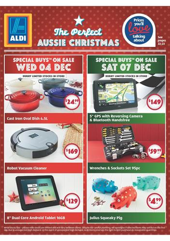 Aldi Christmas 2013 Catalogue December Product Selection