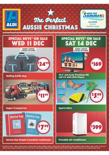 Aldi Christmas Catalogue Gifts 2013 December