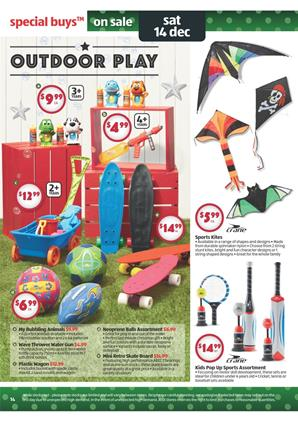 Aldi Christmas Catalogue Outdoor Products And Kids' Crafts