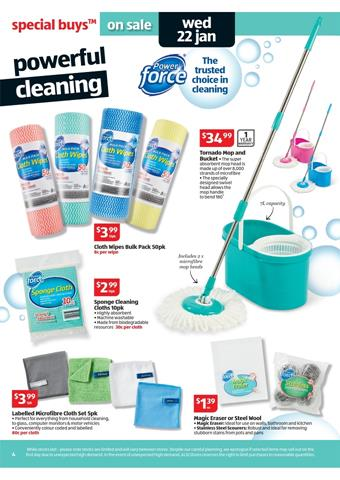 Aldi Supermarket Cleaning Products