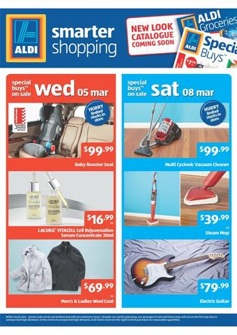 Aldi Catalogue Baby Products Special Buys